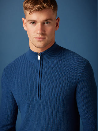 mens half zip sweater