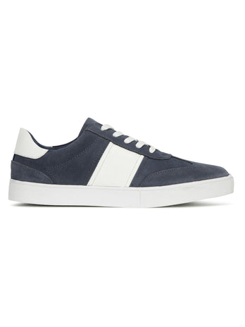 mens blue suede trainers
