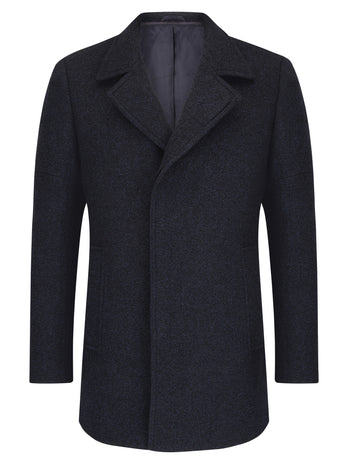 Blue Lohmann Tailored Coat