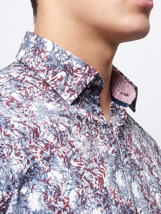 Remus - Red Abstract Shirt