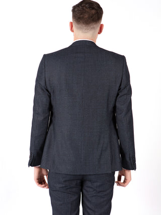 navy suit men