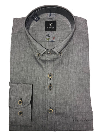 plain grey shirt