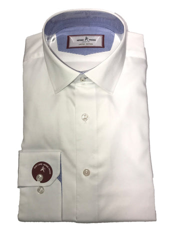 plain white herbie frogg shirt