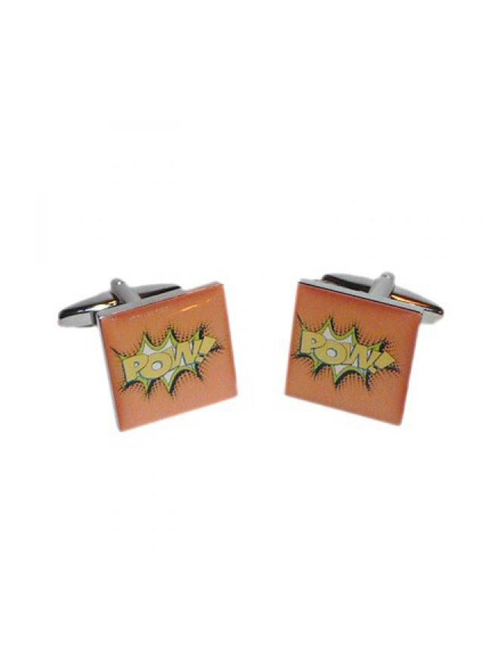 Comic Pow Cufflinks