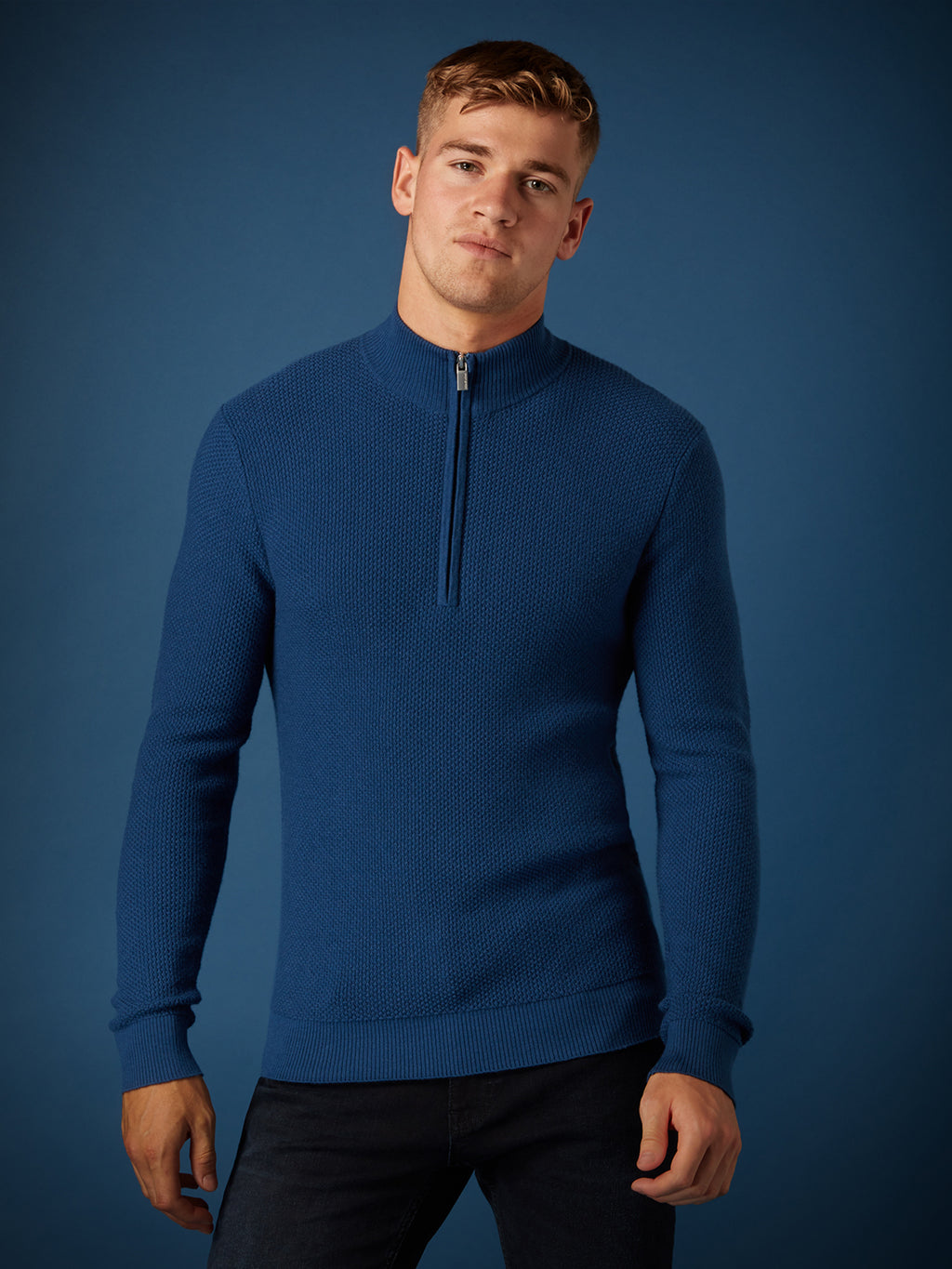remus uomo blue sweater