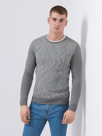 remus uomo grey sweater