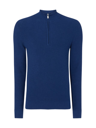 mens blue jumper