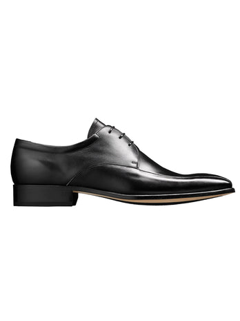 black barker shoes