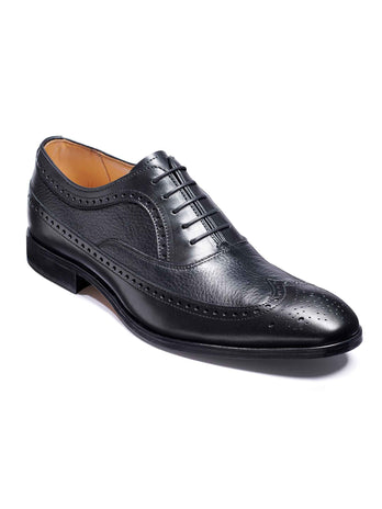 barker rugby shoes black