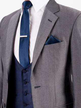 Grey Mohair Wedding Suit