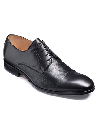 barker shoes southwold black