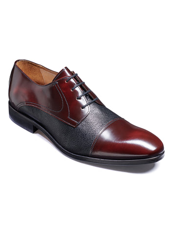 burgundy barker shoes
