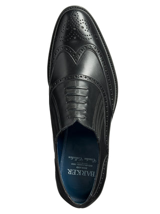 black timothy black barker shoes