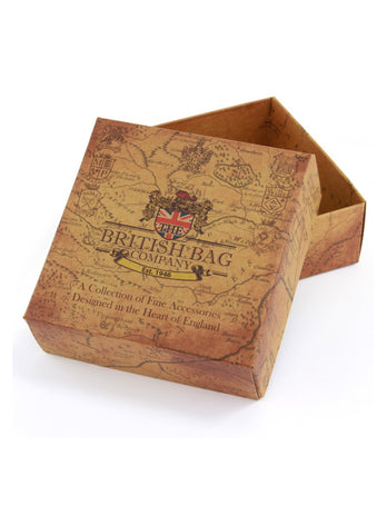 Grey Tweed Trinket Box