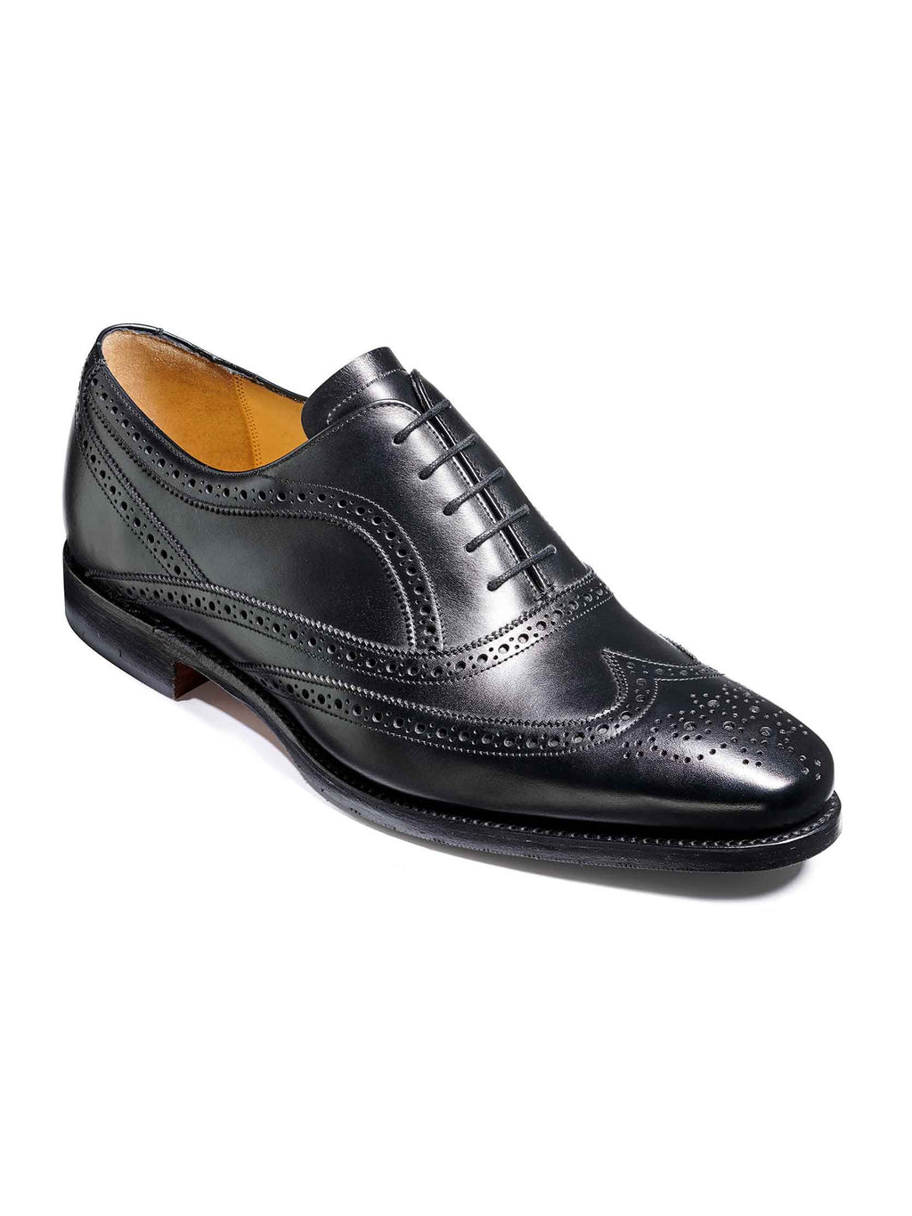 barker turing shoes black
