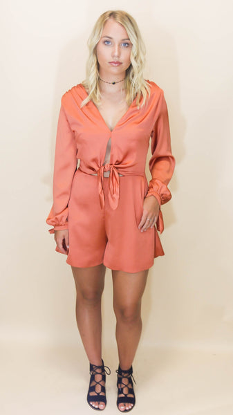 Copper Penny Playsuit
