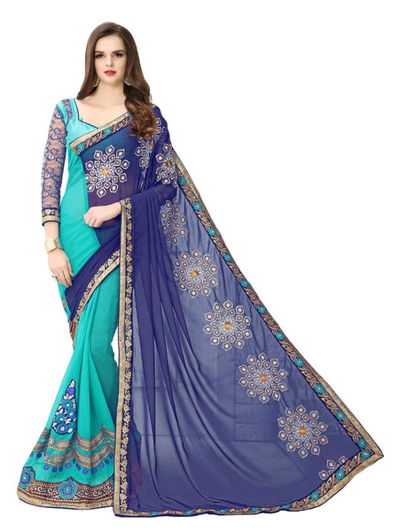 Buy Sarees Online Purchase Sarees Online Party Wear Sarees Reception Sarees Blue Saees New Saree Collections Latest Saree Collection Georgette Sarees Embroidered Sarees Casual Sarees Festival Sarees Cash On Delivery Free Shipping