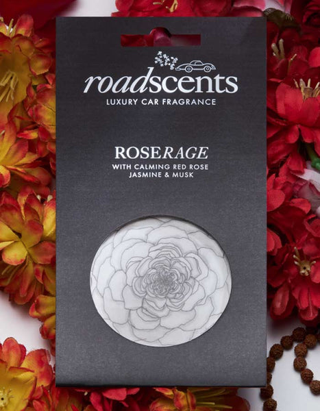 Roadscents Luxury Car Fragrance RoseRage