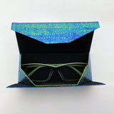 Vegan Eyeglasses Holder -Blue Green - edocollection
