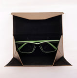 Eco Leather Sunglasses Case-Bronze - edocollection