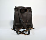 Leather Backpack Purse-Brown - edocollection