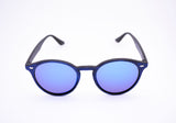 Dapper P3 Round Sunglasses Blu - edocollection