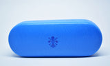 Large Leather Glasses Case-Electric Blu - edocollection