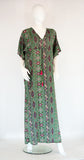 Long Straight Kaftan - Army Green - edocollection