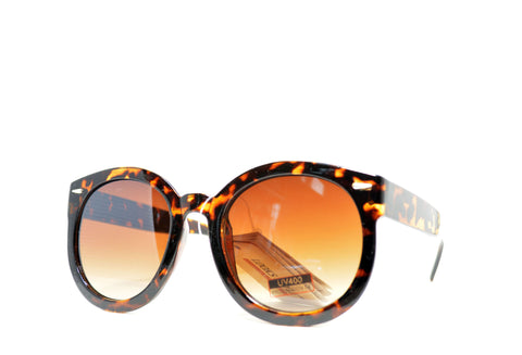 Oversize Round Women's Sunglasses - edocollection