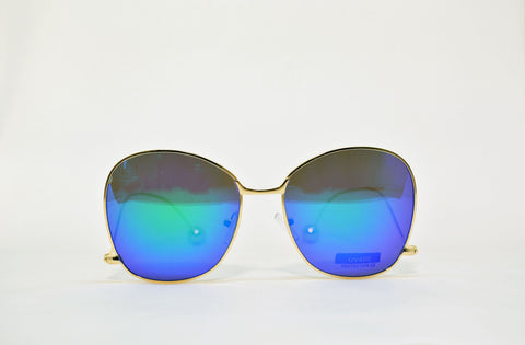Women's Large Square Butterfly Sunglasses - edocollection