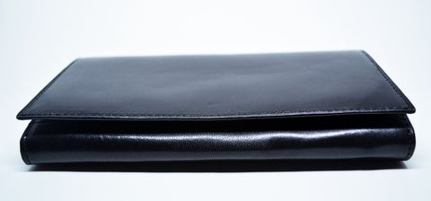 Women's Black Leather Purse - edocollection