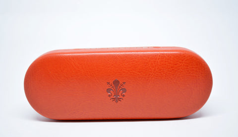 Slim Leather Eyeglasses Case - edocollection