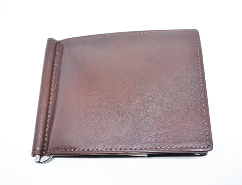 Leather Money Clip Card Holder - edocollection
