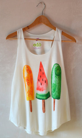 Ice Lollies Tank Top - edocollection