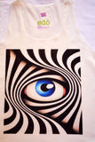 Zebra Eye Tank Top - edocollection