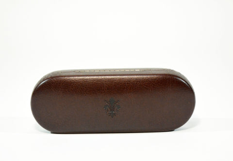 Slim Leather Glasse Case - edocollection