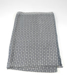 Grey and White Oblong Scarf - edocollection