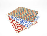 Cotton Pareo Geometric Motif - edocollection