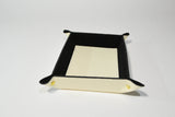 Leather Dresser Tray-Creme - edocollection