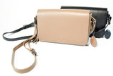Medium Crossbody Leather Clutch With Tassel - edocollection