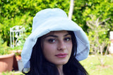 Womens Summer Hat-White - edocollection