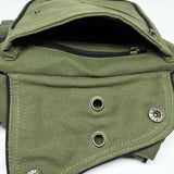 Unisex Cotton Canvas Utility Belt - edocollection