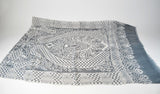 Grey Viscose Unisex Scarf - edocollection