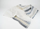 Striped Linen Shawl - edocollection