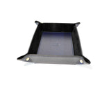Men's Leather Valet-Tray Dark Blu - edocollection