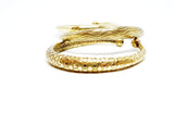 Women's Brass Bangle Bracelet - edocollection