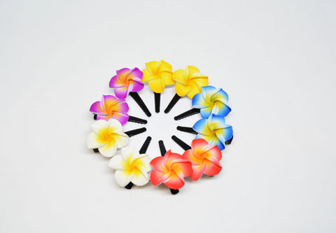 Rubber Flower Hair Clip - edocollection