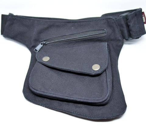 Canvas Utility Belt- Black - edocollection