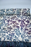Viscose Beach Pareo Grey Flowers - edocollection