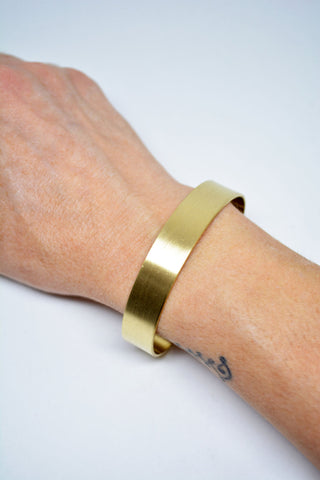 Mens Brass Cuff Bracelet - edocollection